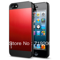 for Apple iPhone5 mobile phone shell IP5 brushed metal protective sleeve of ultra-thin mobile phone shell