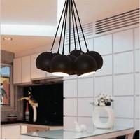 Factory wholesale Lamp 7 flight pendant light modern brief fashion pendant bedroom lamp project light