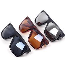 The lowest price!Super Cool Big Square frame Flat top 2014 new fashion sunglasses women men sun glasses gafas Oculos de sol q3