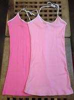 free shipping 100% basic cotton spaghetti strap vest
