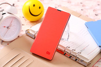 Original PU Leather +Plastic Flip battery cover case shell for xiaomi Hongmi Red rice Millet mobile phone shell