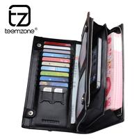 brand wallet men long genuine leather wallets purse mens wallet men's travel bags carteira masculina couro 2014 billeteras