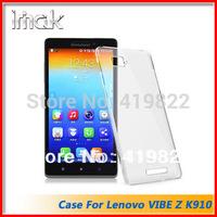 Free shipping Genuine Brand New IMAK Crystal series PC Ultra-thin Hard Skin Case Cover Back For Lenovo VIBE Z K910