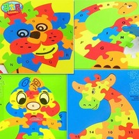 3.8 animal puzzle 3d puzzle toy puzzle mats child foam puzzle