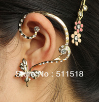 LM-C232 personality Europe and America  cute butterfly ear cuff  fashion high-grade  earrings  jewelry  wholesale