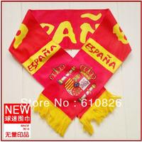 Free Shipping 2014 world cup national team england portual spain usa Korea muffle soccer shawl Football fan's Cheering scarf