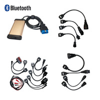 Cheap CDP Pro 3 in 1 2014.2 version with Bluetooth for Car and Trucks with car cables+truck cables