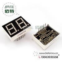 "Free Shipping  CPS05621CR Common Cathode 2Bit Digital Tube 7 segment 0.56"" Red LED Display 10PCS/LOT"