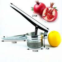 manual juicer  simple thickening stainless steel manual fruit press juice device