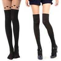 Cute Girls Women Sexy Sheer Pantyhose Hose Tights Silk Stockings Butterfly 073F