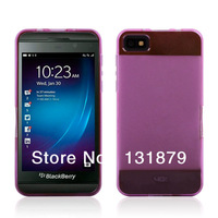 For Blackberry Z10 Case Bicolor TPU Soft Case Cover For Blackberry Z10 BB10 Free Shipping