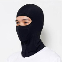 Fashion Unisex Thermal Synthetic Silk Ultra Thin Ski Cs Face Mask Hood Helmet Protection Balaclava Hat Headwear HG-05381