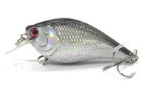 Fishing Lure Crankbait Hard Bait Fresh Water Shallow Water Bass Walleye Crappie Minnow Fishing Tackle C658X18