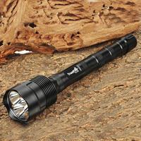Trustfire 3T6 Flashlight 5 Mode 3800 Lumens 3 * CREE XM-L XML T6 LED Flashlight 3*18650 Battery Extendable High Power Torch