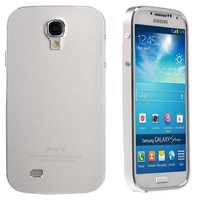 Silver Bumper Case Metal Aluminum Frame With Battery Cover Back Door For Samsung Galaxy s4 i9500 i9505