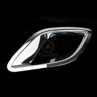 High Quality for Mazda 12 13 CX-5 CX5 2012 2013 ABS Rear Fog Light Lamp Cover Trim