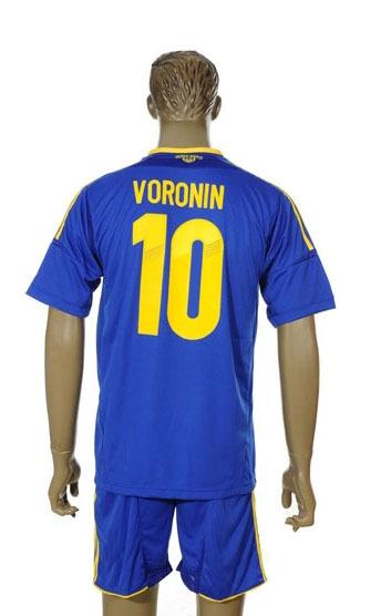 soccer jersey national team 2014 Ukraine away 10 VORONIN ukraine football(China (Mainland))