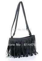 Free shipping 150PCS/Lot 2014 New TASSEL CROSS BODY HANDBAG SHOULDER BAG WOMEN MESSENGER BAGS