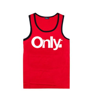Only Muscle tank Men's Cheap Price Sleeveles Garment Vests ashion Top qulaity Tank Tops Men undershirt hiphop tank free shipping