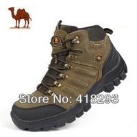 New2014 men's outdoor camel mountain hiking shoes  Breathable walking shoes for winter size 39-44. free shipping