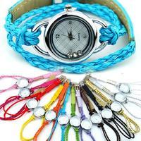 2014 NEW Quartz Bracelet Charm Ladies Quartz Woman Candy Wrist Watch Colorful Sale 06I3