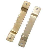 SAW-TOOTH HANGER Slotted Picture Hangers Picture Hooks Frameless Picture Frame Clips Picture Hanging Kits TS-K165 Photo hardware