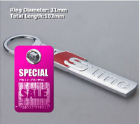 A4L A6L Q5 Sline Refires Emblem Keychain/Key Rings for AUDI,Good Quality