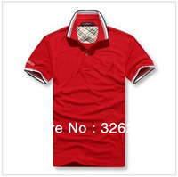 Wholesale New 2014 Camisas Top Men T-shirt Men Brand Blusas Famous Tshirt Slim Fit Camisa Men's Casual Camisetas Shirts 8Colors