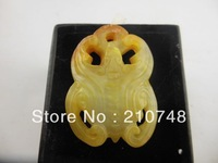 christmas decoration 14  Free shipping NEW Chinese Hand Carved Jade - Bat Jade