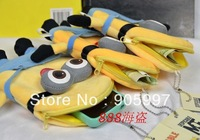 HOT Sale Despicable ME Movie Plush Toy 120PCS Kawaii Plush Coin Purses & Wallet Pouch Case BAG Pendant Bags Pouch Case Holder