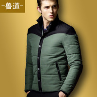 Free Shipping Men's new winter big yards thick padded jacket male fashion padded cotton clothing coat AS47