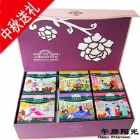 Free shipping Tea gift box amann 6 oolong taste white tea green tea ahmad tea wholesale