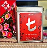Free shipping Dilmah tea almond black tea t series  wholesale