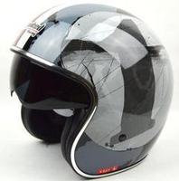 Tanked Racing Open Face helmet Jet Helmet Chopper motorcycle style