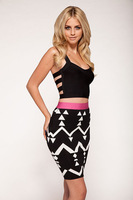 2014 New Arrival HL Bandage Skirt Women's Sexy Skirt Business Fashion Style Skirt Top Quality Wholesale