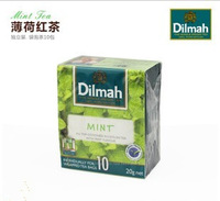 Free shipping 4 box dilmah mint black tea 10  wholesale