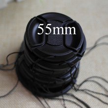 Brand New Universal 49 52 55 58 62 67 72 77mm Snap-on Front Lens Cap cover for Canon Sony Nikon(China (Mainland))