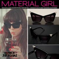 Free Shipping Sunglasses,Fashion Sunglasses Personalized Cat-Eye Vintage Sunglasses