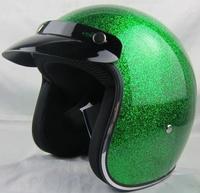Super High quality Fiber glass Jet helmet Chopper motorcycle helmet Free shipping