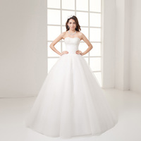 New arrival 2014  princess bride married fashion pop bandage wedding dress