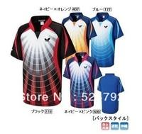 free shipping !2013 Butterfly  Men and women's badminton /Tennis Sportswear shirt white