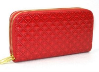 QB018 red double classical geometric pattern new lady Purses WHOLESALE