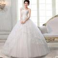 2013  white beaded one shoulder girl dress