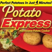 Free Shipping 1pcs/lot Potato Express Microwave Potato Cooker As Seen On TV Baked Potato Cooking Bag