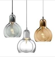 Diy mini pendant light bar decoration glass pendant light modern brief  Factory wholesale