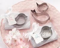 100sets/lot free shipping wedding decor metal love birds cookie mold cookie cutter kids birthday event & party supplies