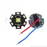 Freeshipping!  Cree XML L2 XM-L2 White Color 10W LED Emitter mounted on 20mm PCB with DC3.7V Driver