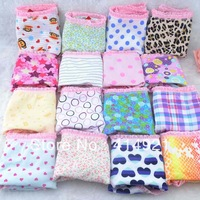 100PCS Women's underwear cotton Panties multi-color Lovely Briefs