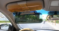 drop shipping free shipping Car sun visor/Car sun shade/ Day and night glare mirror / goggles