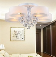 2014 40W Acrylic Crystal Ceiling Lights with 10 Lights